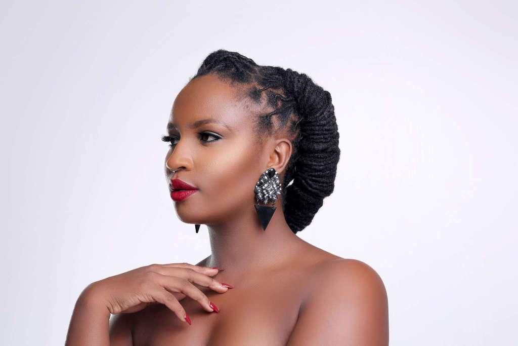 Stunning: Blogger Silvia Njoki reps Kenya at the Cannes Festival