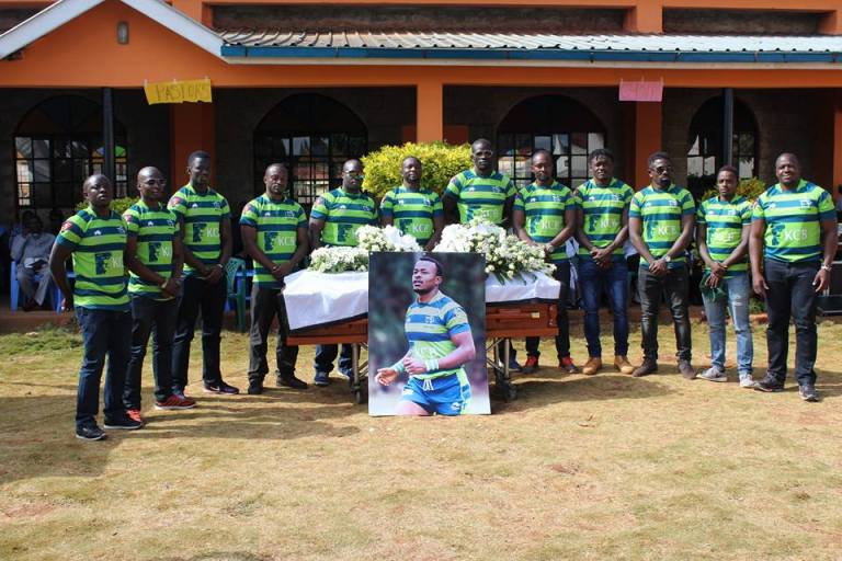 RIP Jay Mulla: Heartbreaking photos from Rugby star's burial