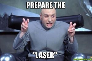 The eventual uses of laser technology were not immediately obvious.