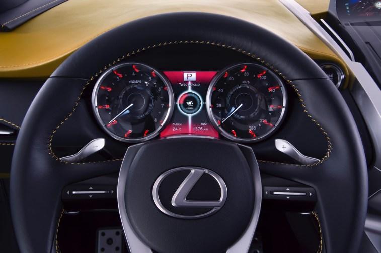 Lexus LF NX Concept Driver's Seat