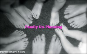 Family Un-Planning