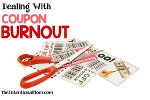 How to Be Frugal While Dealing With Coupon Burnout