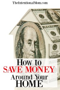 How to Be Frugal By Saving Money Around Your Home
