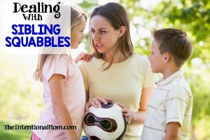 How to Deal With Sibling Squabbles