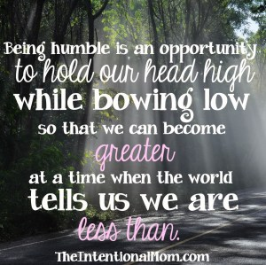 Do You Know What It Means to Be Humble?