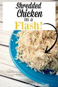 Shredded Chicken in a Flash