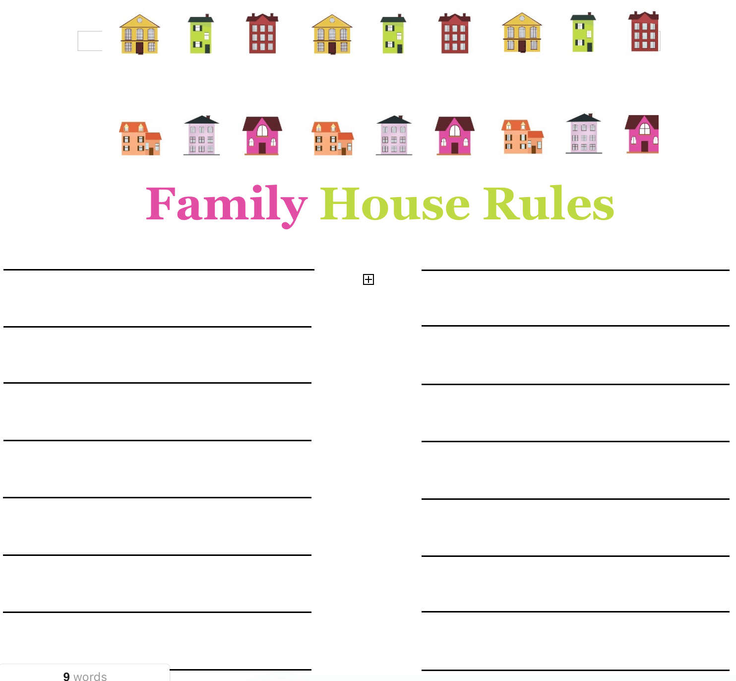25 Basic House Rules For Families Amp How To Create Your Own
