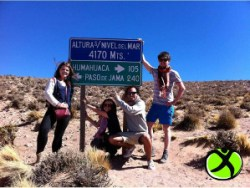 Travelling in Argentina