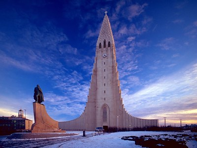 The Church of Hallgrimur, Reykjavik, Iceland