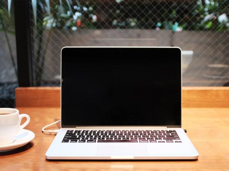 Work Abroad Laptop Image