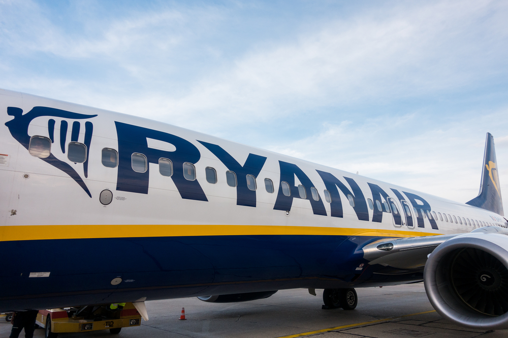 Ryanair report increase profits