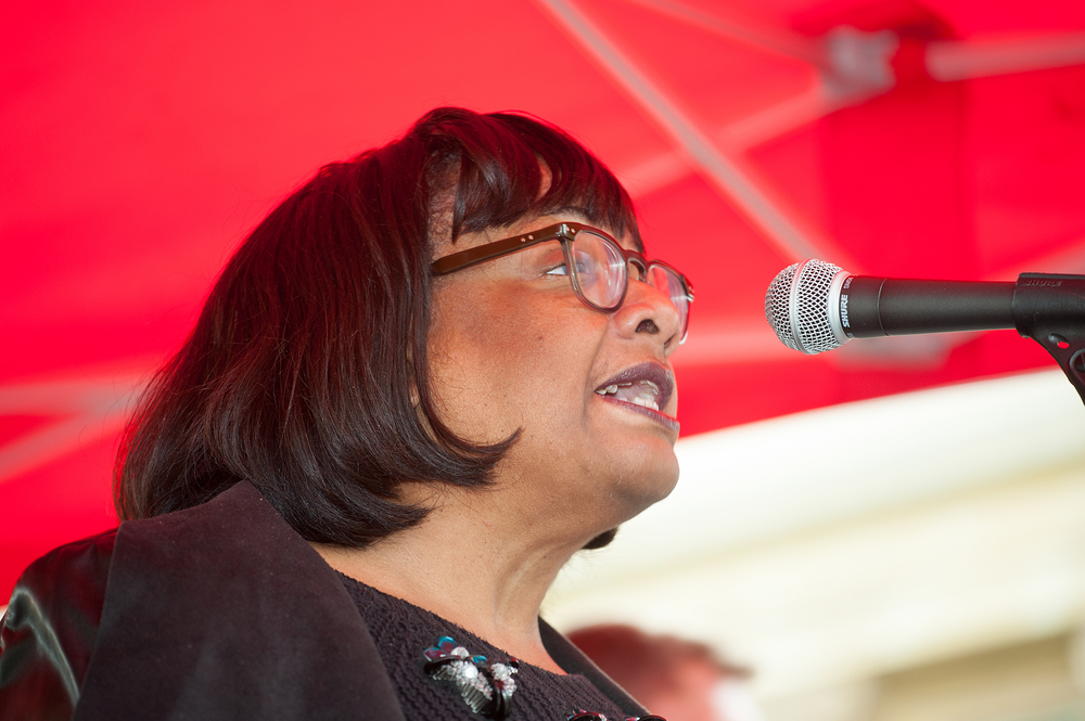 Diane Abbott fails to list measures against terror