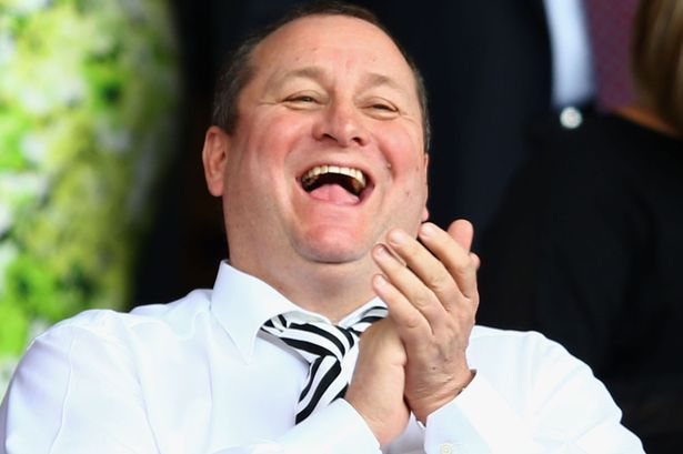 Mike Ashley wins over '£15m Sports Direct deal' in a pub