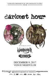 Darkest Hour :: Venue Nightclub @ Venue Nightclub   Vancouver   British Columbia   Canada