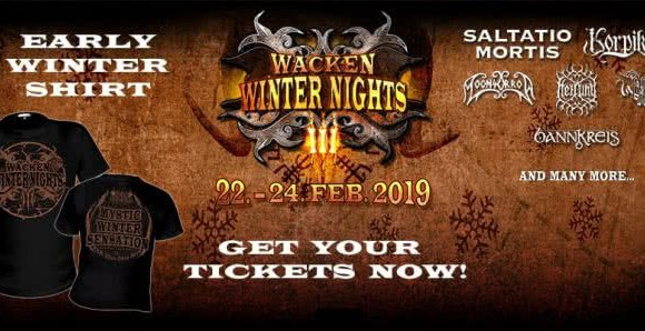 Wacken Winter Nights 2019 Pre-Sale!
