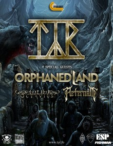Tyr / Orphaned Land :: Rickshaw Theatre @ Rickshaw Theatre | Vancouver | British Columbia | Canada