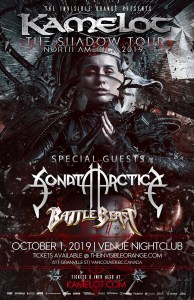 KAMELOT | SONATA ARCTICA @ VENUE Nightclub | Vancouver | British Columbia | Canada
