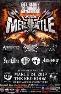 Wacken Metal Battle :: BC Round 4 @ The Red Room