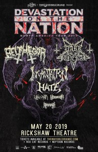 DEVASTATION ON THE NATION TOUR 2019 @ The Rickshaw Theatre