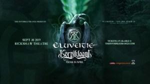 ELUVEITIE & KORPIKLAANI @ Rickshaw Theatre