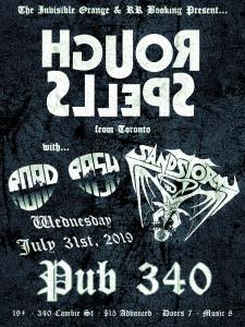 ROUGH SPELLS | RoadRash | Sanstorm @ The Pub 340