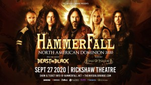HAMMERFALL @ Rickshaw Theatre
