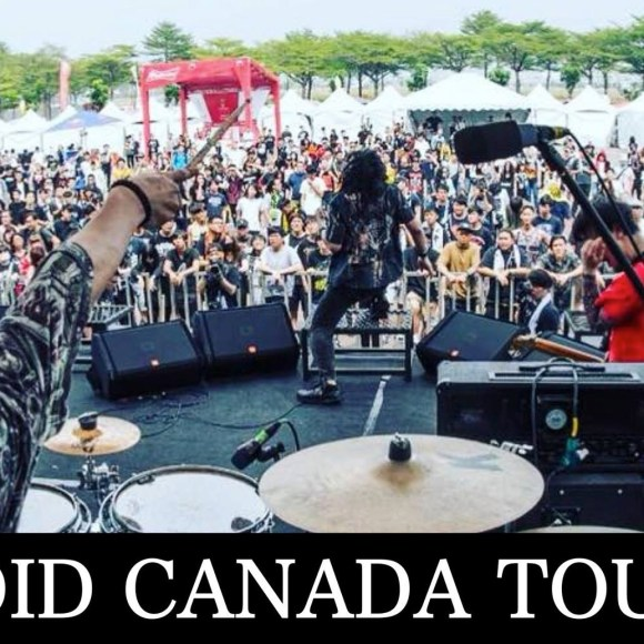 HEVOID ANNOUNCE EASTERN CANADA TOUR 2019