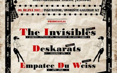 The Invisibles headliner at Skaville Festival Croatia!
