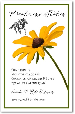 Kentucky Derby Party Invitations The Invitation Shop
