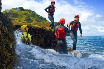 coasteering Hook Head Wexford