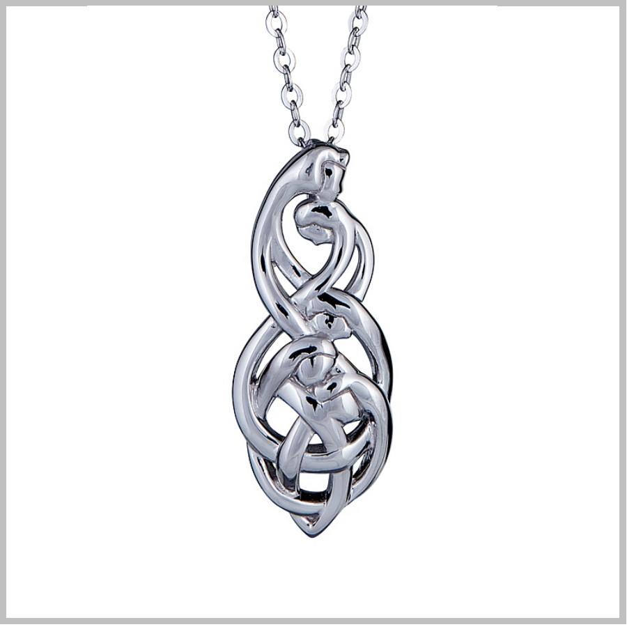 Celtic Family Knot Pendant Family Of Five