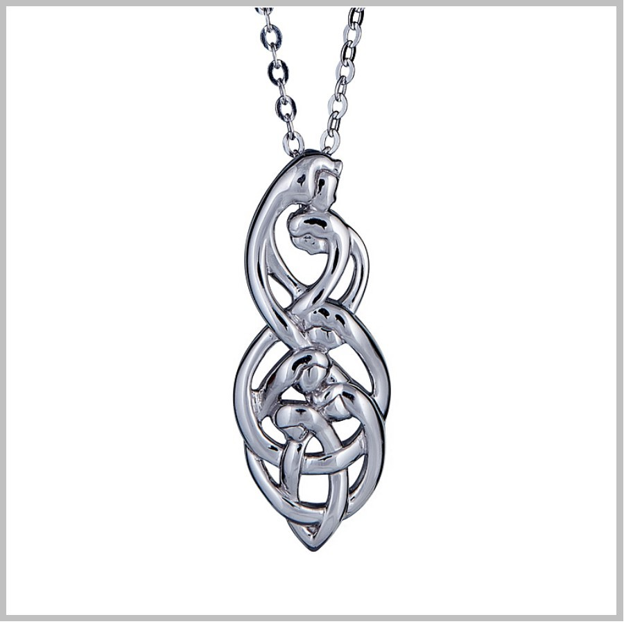 Celtic Family Knot Pendant Family Of Six