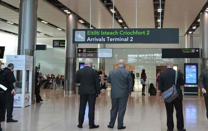 One of the Arrivals areas at Dublin Airport - The Irish Place