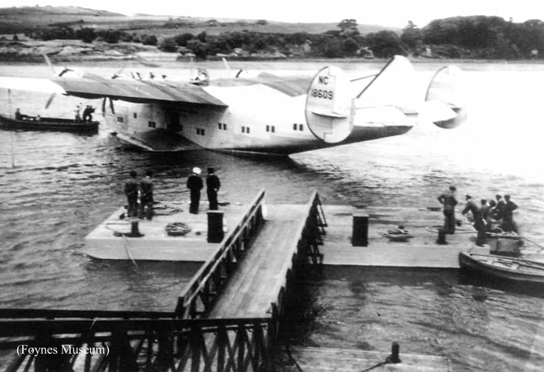 Foynes Control Tower in its heyday - The Irish Place