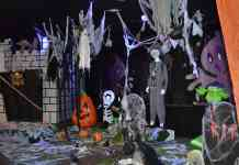 Halloween Scene Display - The Irish Place