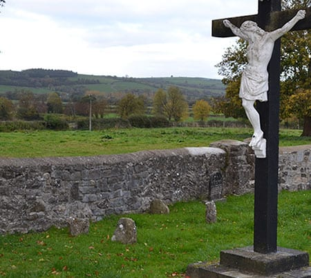 The four stones marking the unmarked Grave of Bridget Cleary - The Irish Place
