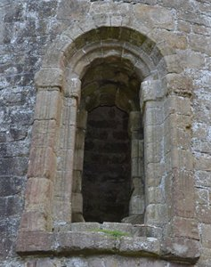 The Romanesque Doorway in Timahoe Round Tower - The Irish Place