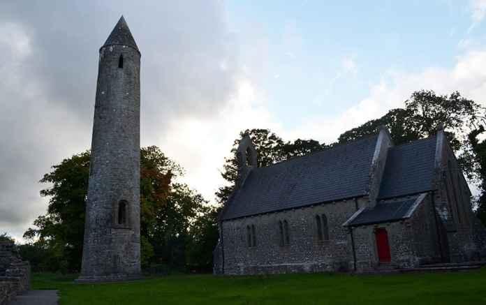 Timahoe Round Tower - The Irish Place