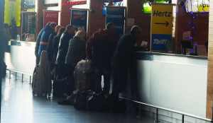 Airport Car Hire Desks at Cork Airport - The Irish Place