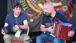 Concertina and Button Accordion - The Irish Place #doolinfest