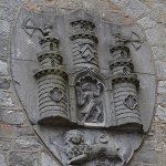 The Kilkenny Coat of Arms on the right side wall of the Tholsel - The Irish Place