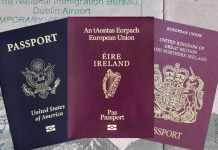 Irish Passport - The Irish Place