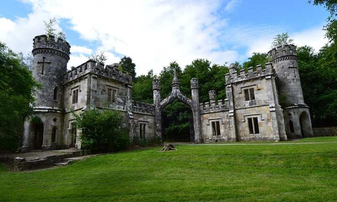 The Ornate Gate Lodges at Ballysaggartmore Towers near Lismore, Co. Waterford. - The Irish Place