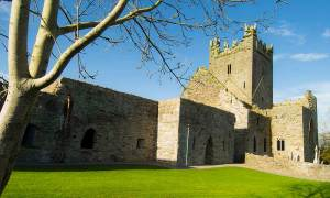 The ruins of the Cistercian Monastery at Jerpoint