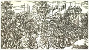 Fighting in 16th century Ireland.