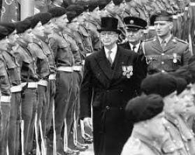Eamon de Valera commemorating the 1916 Rising in 1966
