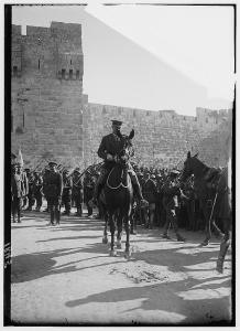 Figure 2 - British Enter Jerusalem