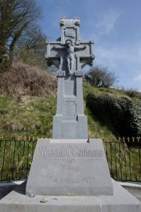 Memorial Cross to Michael Collins