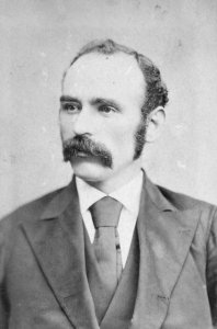 Michael Davitt, Land League leader and supporter of Henry George's ideas.