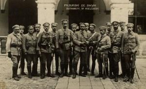Joseph Pilsudski and the Polish Legion.
